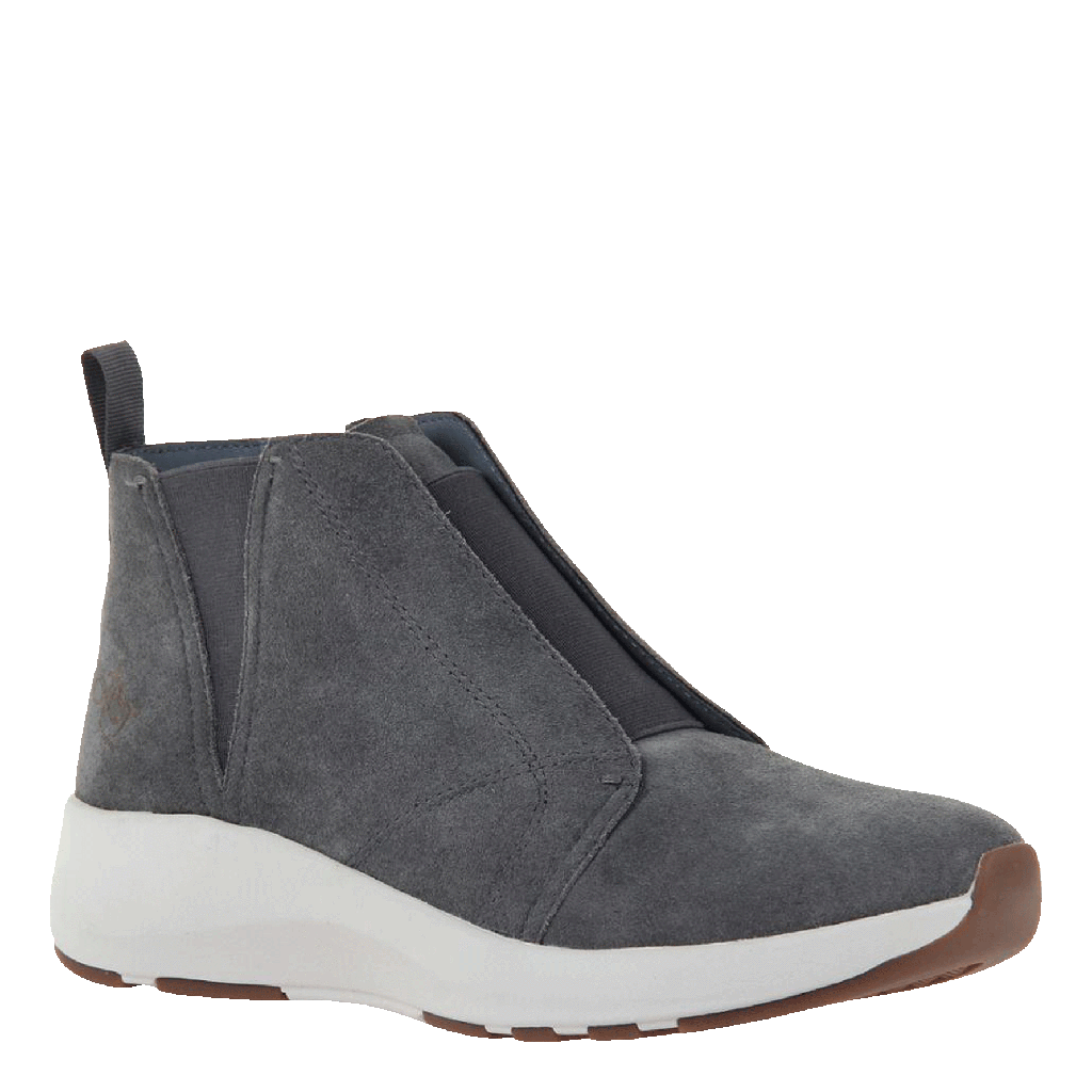 Womens cold weather boots Bethel in soft grey