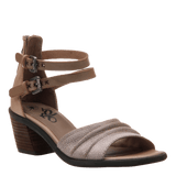 BOARDER in TAUPE Heeled Sandals