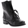 OTBT, Bridgeman, Black, Leather boot with laces