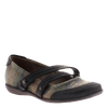 OTBT, Bristol, Camo, Ballet flat with double top strap