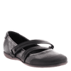 OTBT, Bristol, Silver, Ballet flat with double top strap