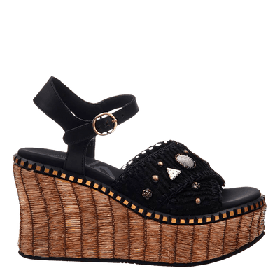 Womens wedge cahoot side