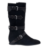 Calamity boot in black suede side