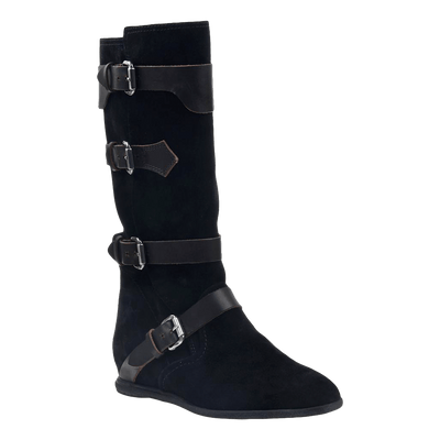 Calamity boot in black suede