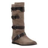 CALAMITY in DARK TAUPE Mid-Shaft Boots