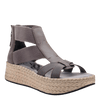 Womens Cannonball wedge sandal in zinc