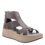 CANNONBALL in ZINC Wedge Sandals