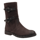 CAUSEWAY in DARK BROWN Mid-Shaft Boots