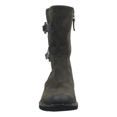 Causeway womens boot in sable front view