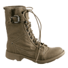 OTBT, Clarksville, Beige, Lace up hiker boots with buckle on the top