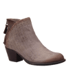 Compass dark taupe ankle boot