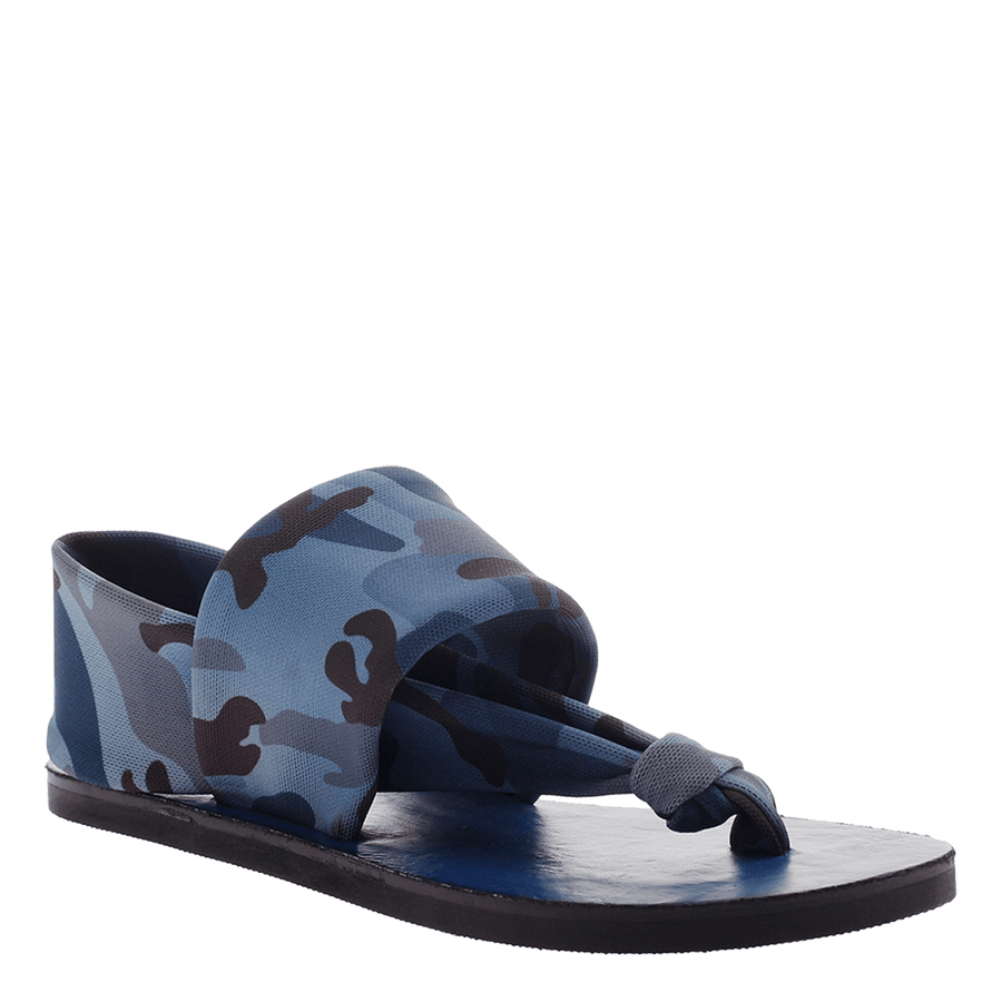 OTBT, Conrath, Blue, fabric thong sandal