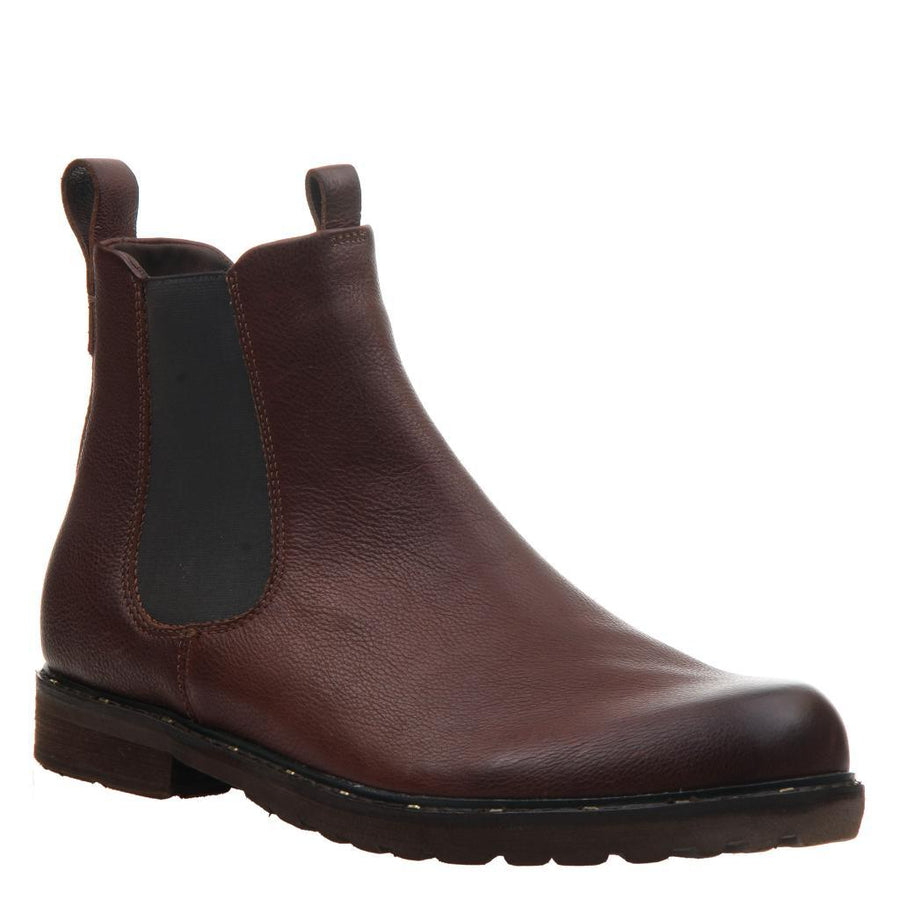CONVOY in DARK BROWN Ankle Boots