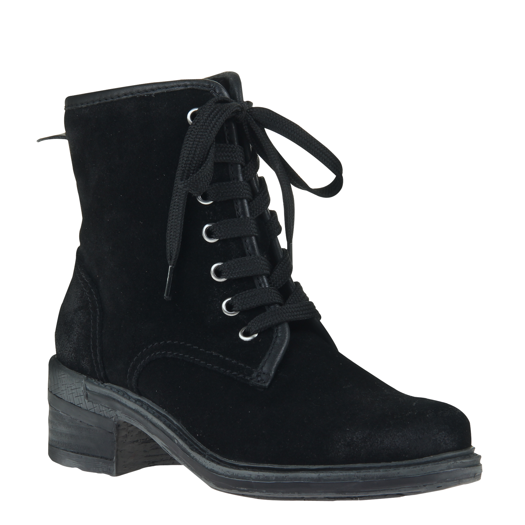 Womens ankle boot country in black