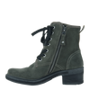 Womens ankle boot country in moss inside
