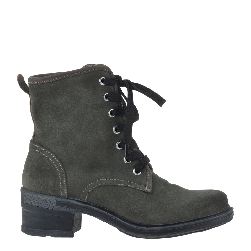 Womens ankle boot country in moss