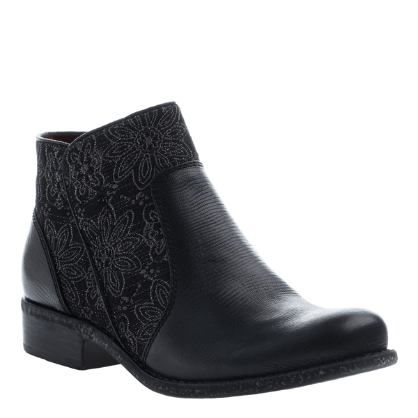 OTBT, Dare Devil, Black, Ankle boot with design