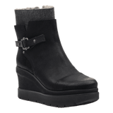 DESCEND in BLACK Mid-Shaft Boots