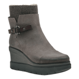 DESCEND in CHARCOAL GREY Mid-Shaft Boots