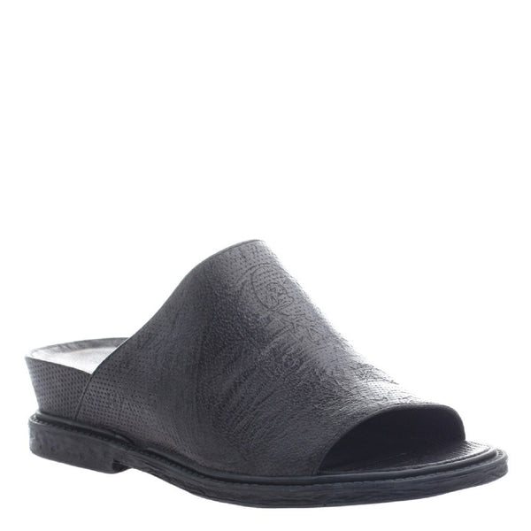 OTBT, Drifter, Black, Leather slide on