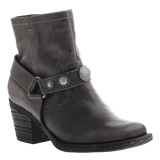 DUGAS in BEIGE BLACK Ankle Boots