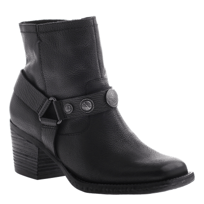 DUGAS in BLACK Ankle Boots