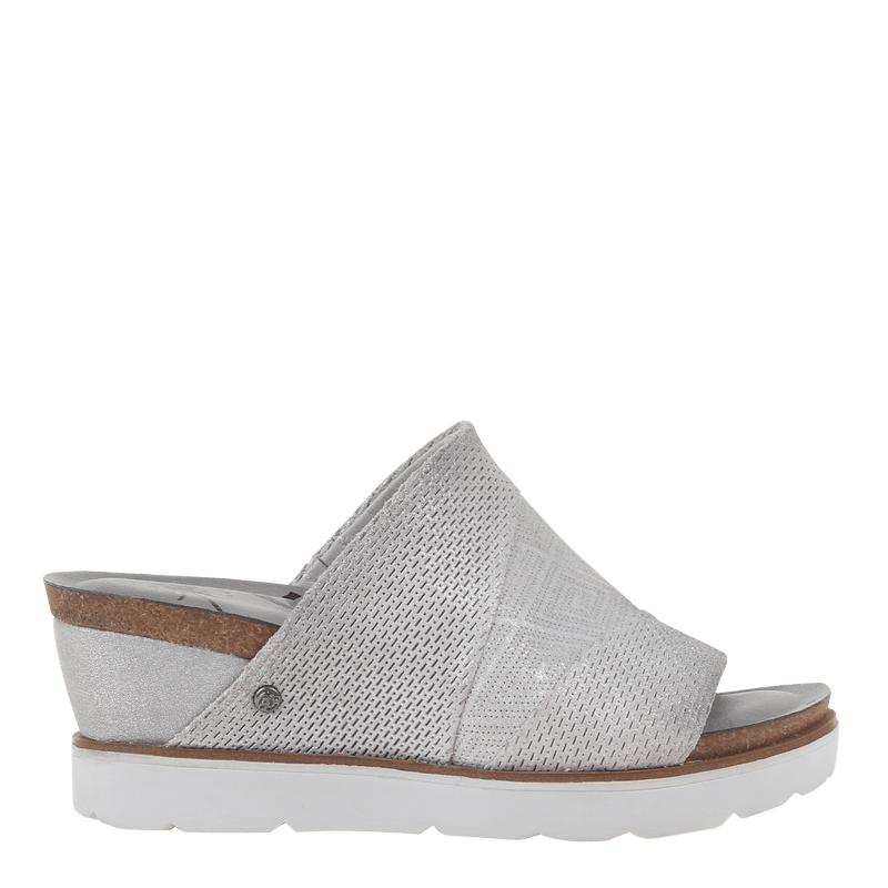 Womens wedge Earthshine in Silver