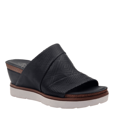 Womens wedge earthshine in black