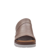 Womens wedge earthshine in light gold front view