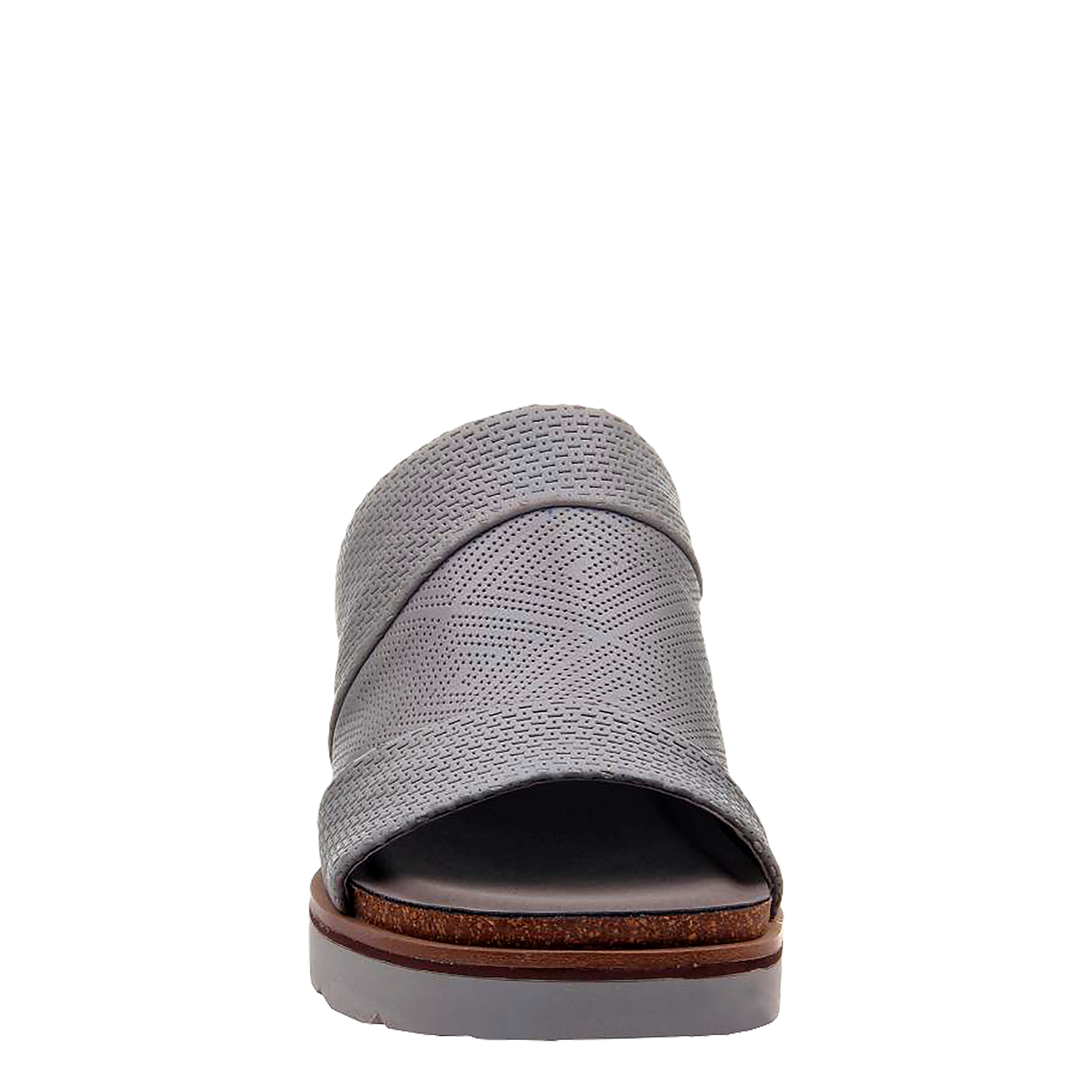 eb5c9c51799 Womens wedge earthshine in zinc front view