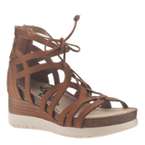 ESCAPADE in TAN Wedge Sandals