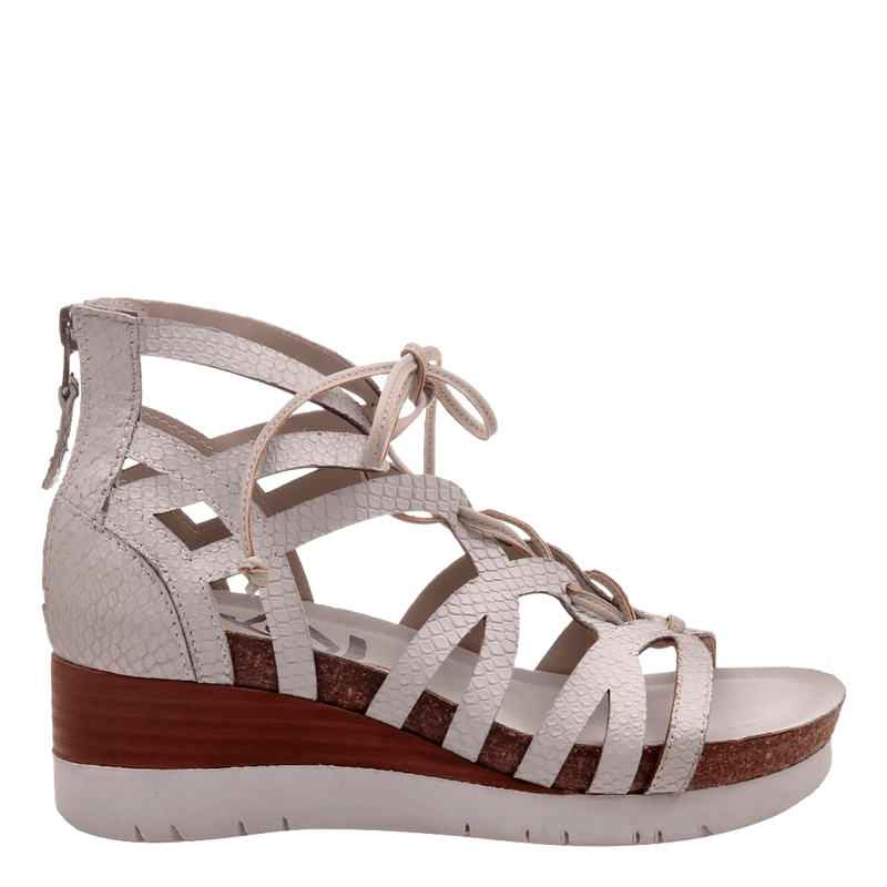 Womens wedge escapade in sport white