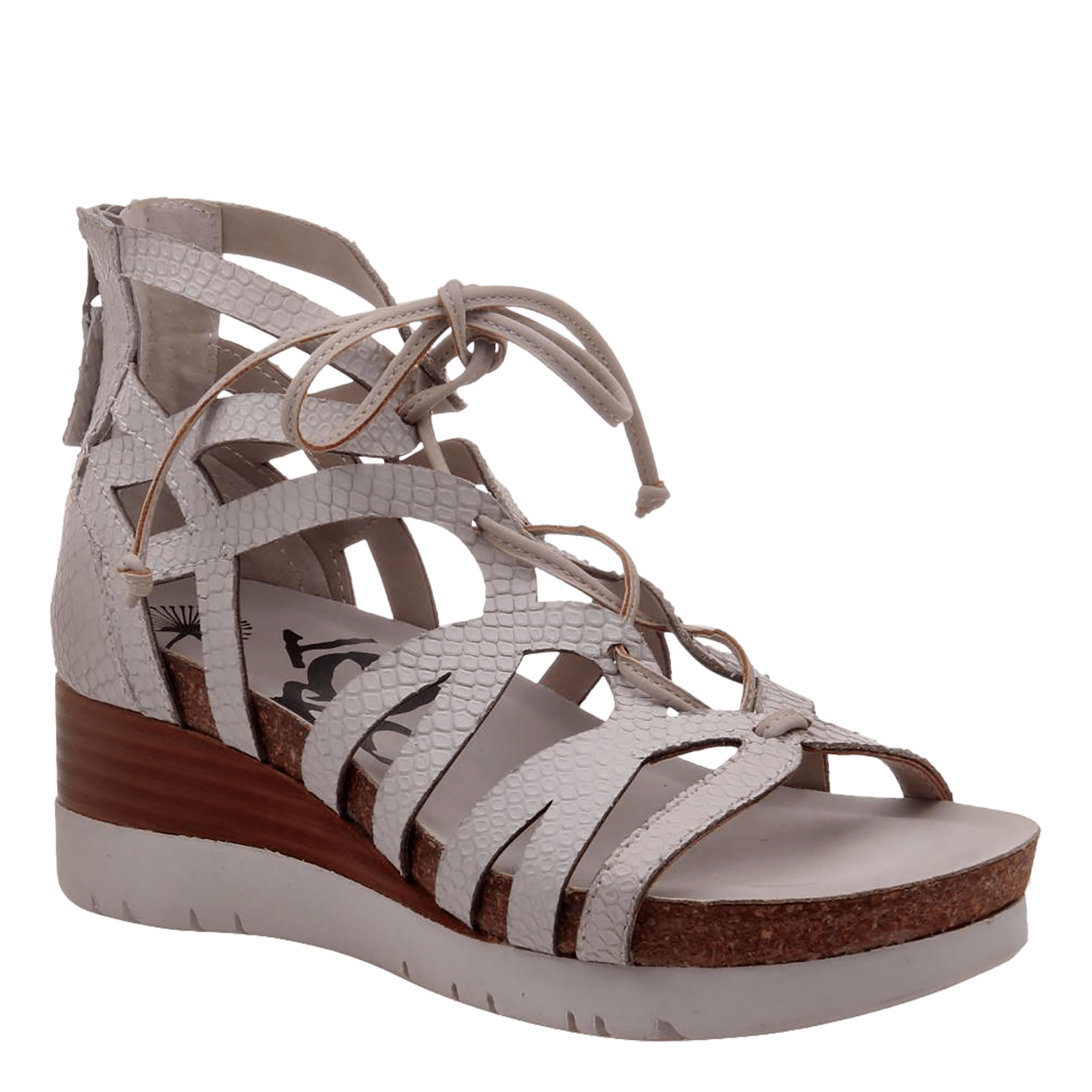 c6cbba8b4 Escapade in Sport White Wedge Sandals | Women's Shoes by OTBT