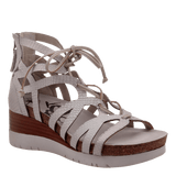 ESCAPADE in SPORT WHITE Wedge Sandals
