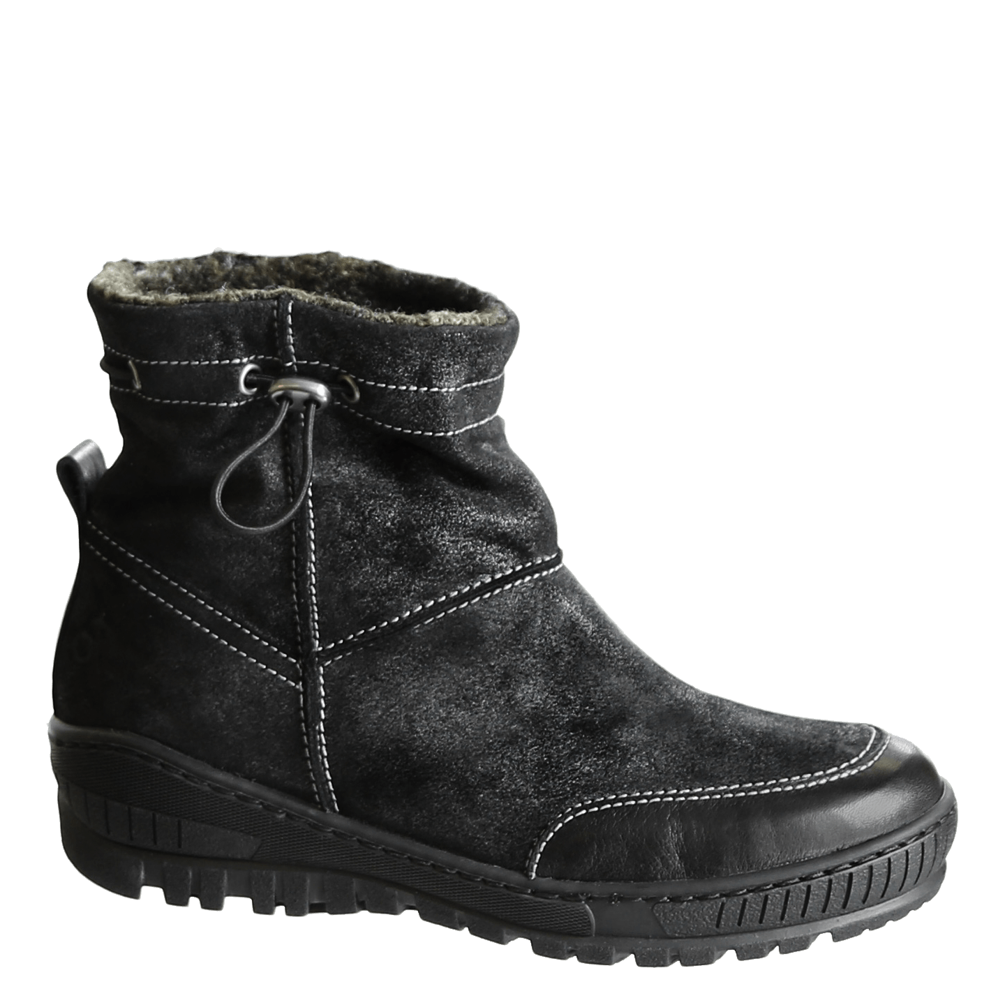 Womens winter boot fanfare in black