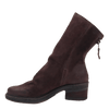 Fernweh Women's boot dark brown inside view