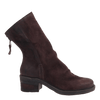 Fernweh Women's boot dark brown side view