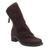 FERNWEH in DARK BROWN Mid-Shaft Boots