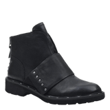 FRONTAGE in BLACK Mid-Shaft Boots
