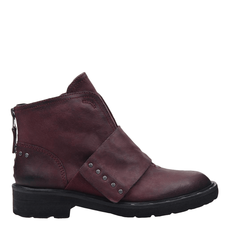 Womens frontage boot eggplant