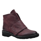 FRONTAGE in EGGPLANT Mid-Shaft Boots