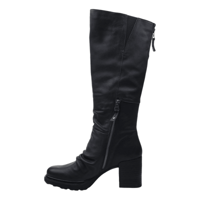 Womens over the knee boot Gambol in black inside view