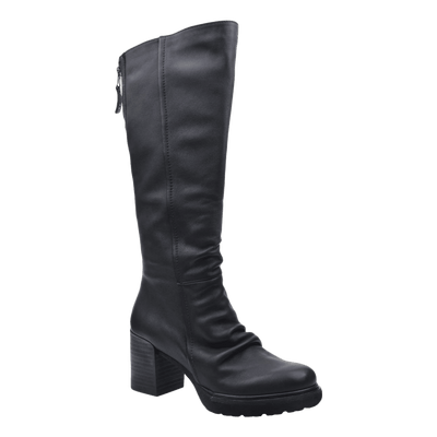 Womens over the knee boot Gambol in black