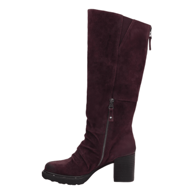 Womens over the knee boot Gambol in chianti inside view