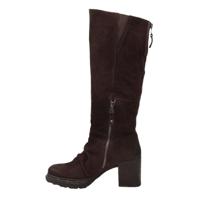 GAMBOL in DARK BROWN Knee High Boots