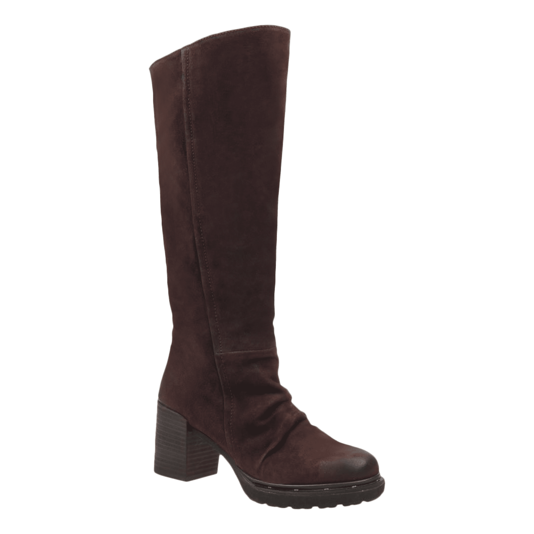 new high quality reliable quality hot sales GAMBOL in DARK BROWN Knee High Boots