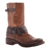 OTBT, Caswell, Medium Brown, Leather boot with buckles