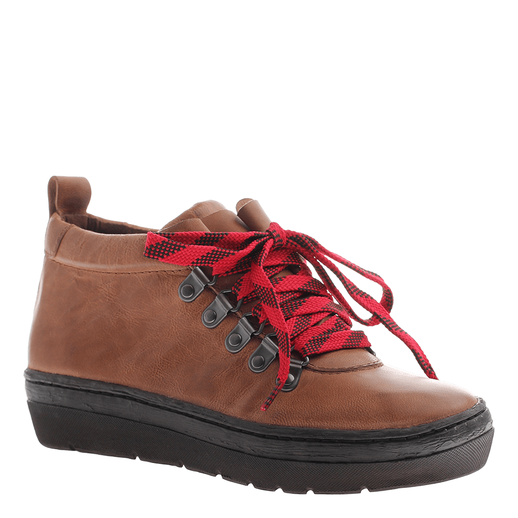 OTBT, Green Lake, Havana, Lace up leather sneaker