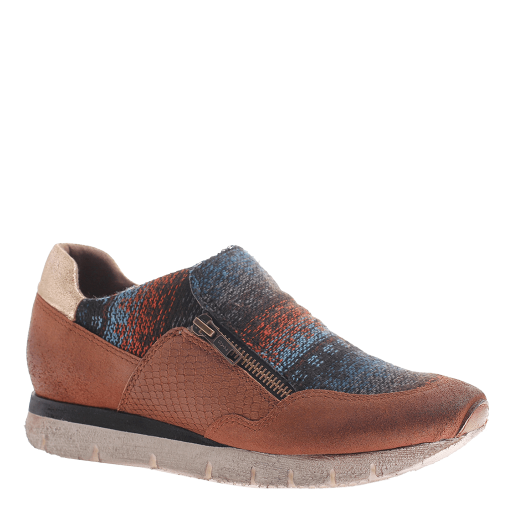 OTBT, Sewell, Tuscany, Slip on sneaker with side zippers