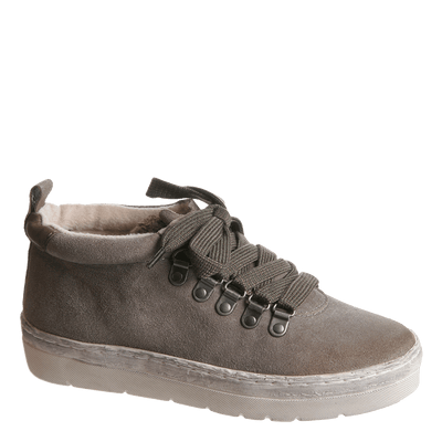 OTBT, Green Lake, Dust Grey. Modern lace up sneaker